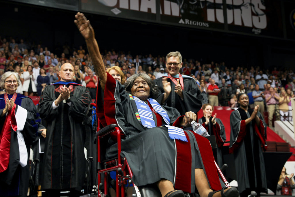 Woman Who Desegregated the University of Alabama Receives Honorary Doctorate