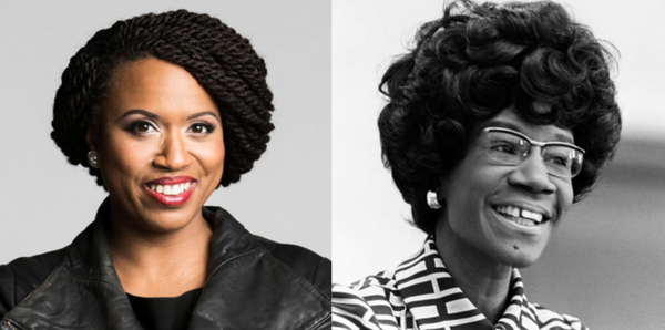 You Can Now Find Congresswoman Ayanna Pressley In Shirley Chisholm's Old Office