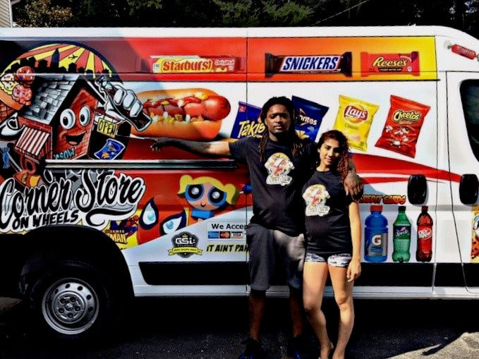 Atlanta Artist Turned Entrepreneur Brings Convenience to the People With His 'Corner Store on Wheels'