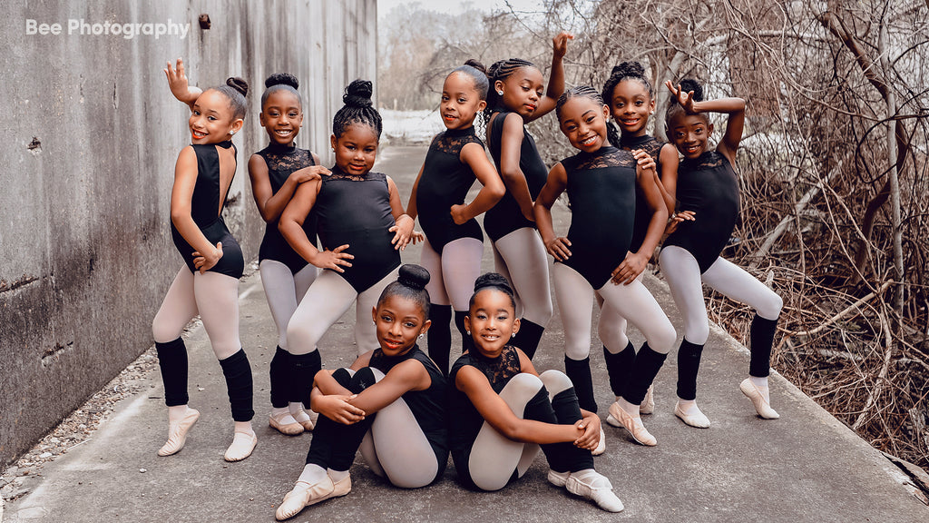 Young Black Ballerinas Pose For Photo Shoot In Honor Of Black History Month