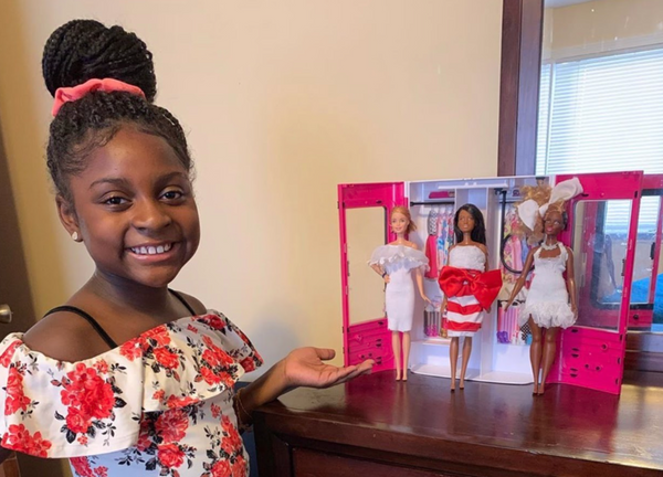 9-Year-Old Fashion Designer Catches The Attention of Barbie's Mattel