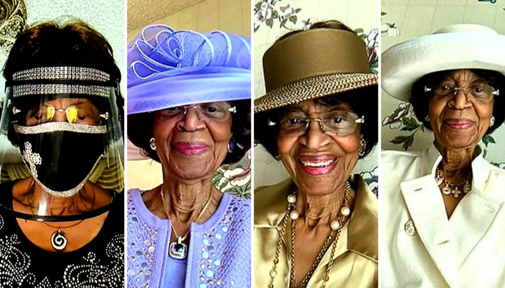 This 82-Year-Old Woman Has Dressed Up Every Sunday For 52 Weeks To Attend Virtual Church