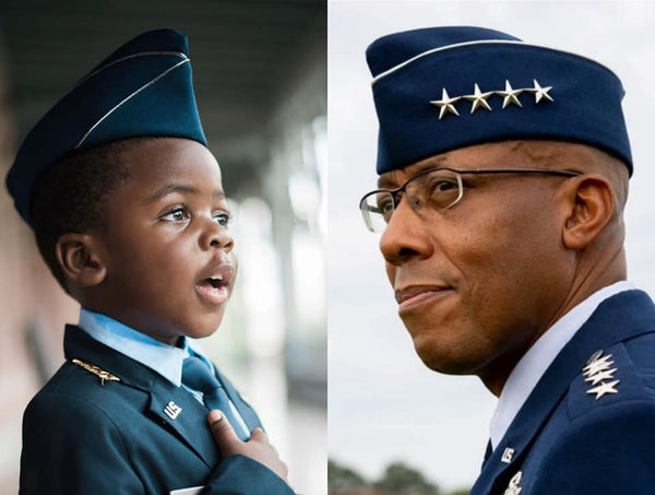 This Young Boy Dressing As His Uncle, The 1st Black U.S. Air Force Chief of Staff, Won Halloween