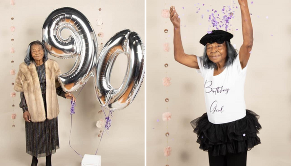 This Grandma Celebrated Her Birthday With A Photoshoot And It's Melting The Internet's Heart