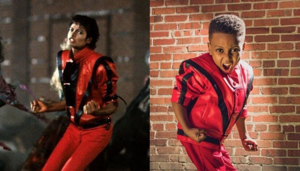 This 5-Year-Old Wanted To Dress Up As Michael Jackson For His Birthday And He Nailed It