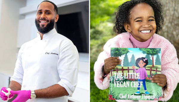 D.C. Chef Creates Vegan Cookbook For Children Inspired By His Daughter