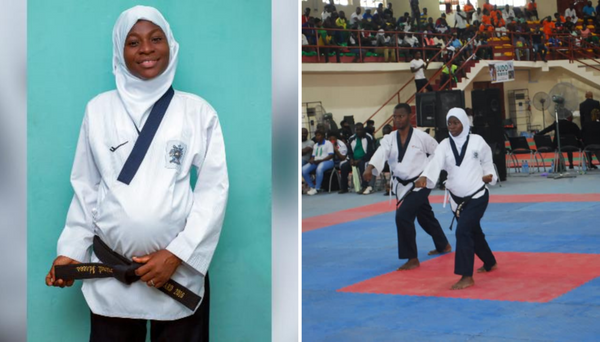 Aminat Idrees Wins Taekwondo Gold Medal While 8 Months Pregnant