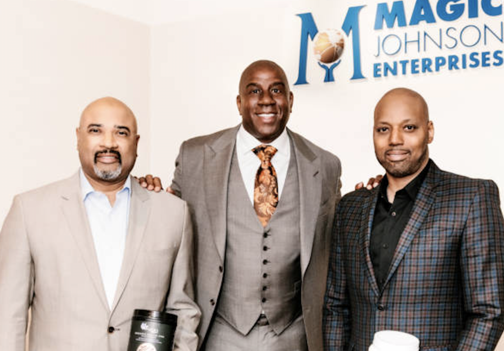 Magic Johnson Invests In Black-Owned Natural Health Products