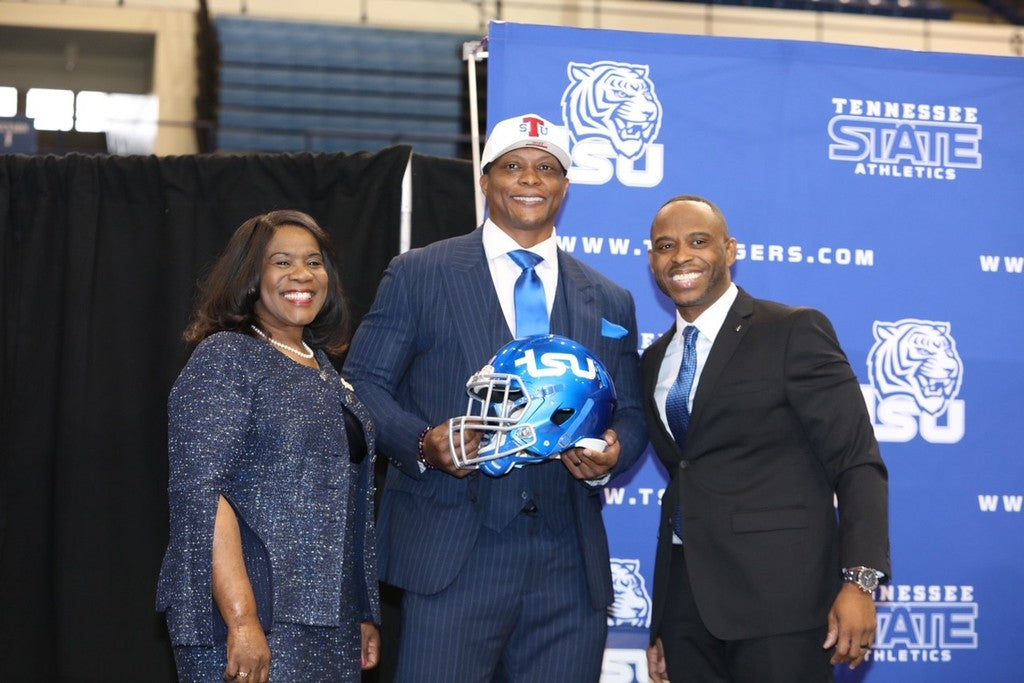 Former NFL Player Eddie George Is Taking Over As Head Coach At Tennessee State University