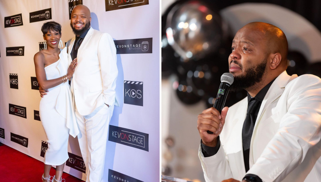 This Speech From Comedian KevOnStage's NAACP Image Award Party Warmed The Internet's Heart