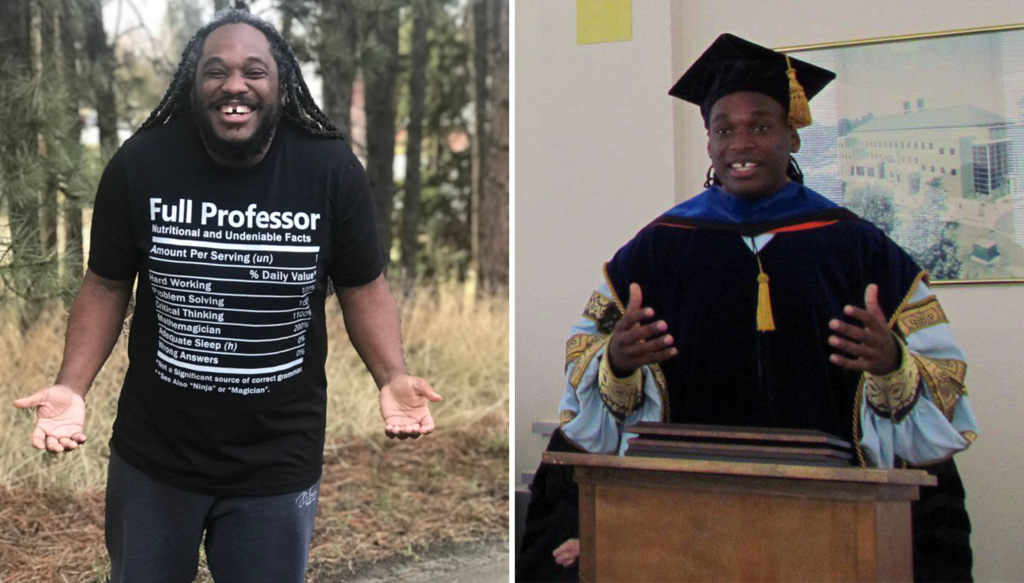 He Just Made History As First Black American Man Promoted To A Full Professor at University of Idaho