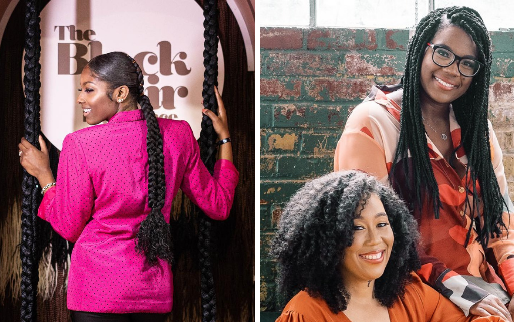Black Creative Duo In Atlanta Pay Homage To Black Women With 'Black Hair Experience' Exhibition