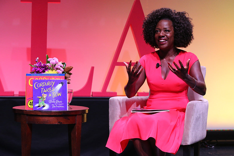 Viola Davis Releases New Children's Book, 'Corduroy Takes A Bow'