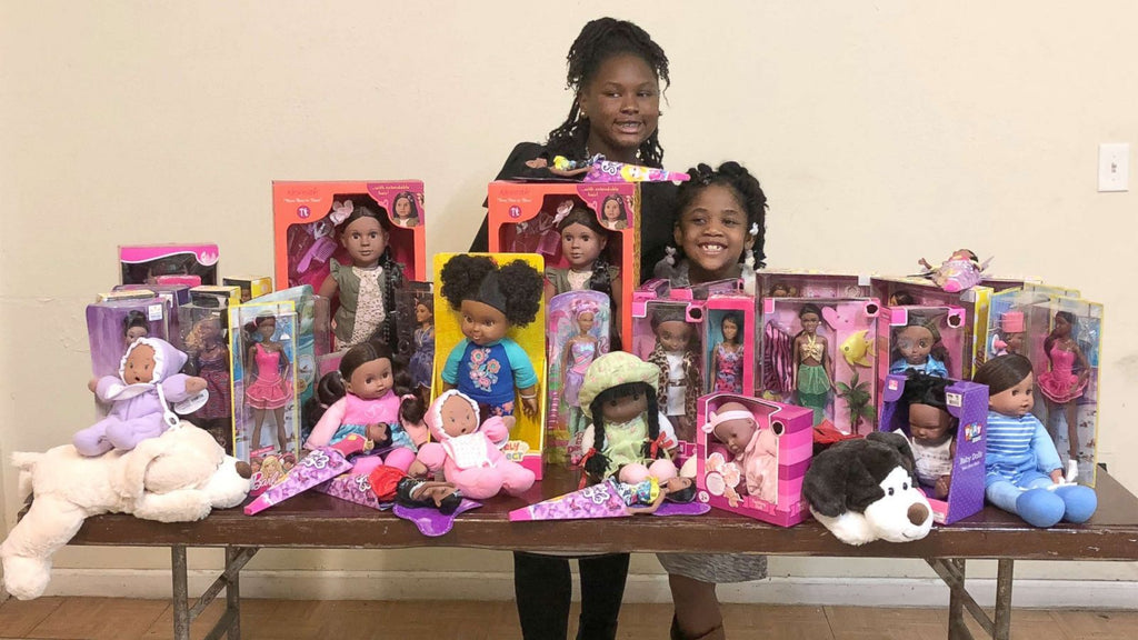This 11-Year-Old Is Gifting Black Girls With Dolls That Look Like Them