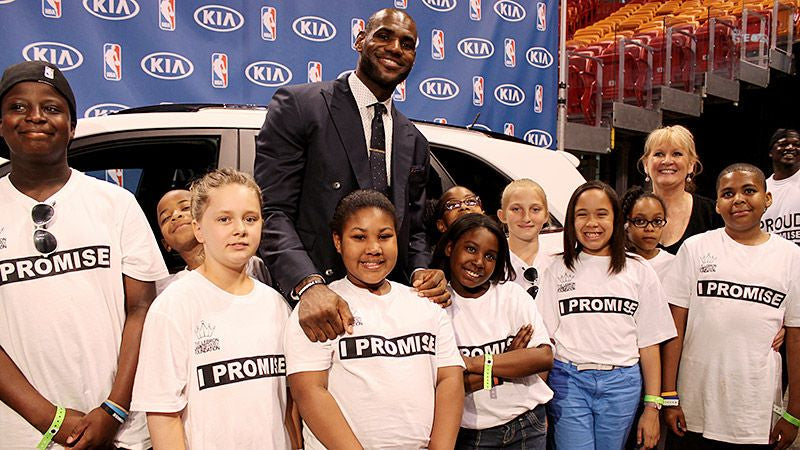 Less Than a Year After Opening, 90% of the Students at LeBron James I Promise School Have Met or Exceeded Academic Goals