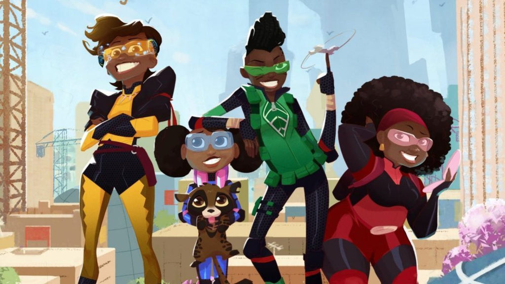 Netflix Launches its First Animated Series From Africa and it Features an All Female Led Cast