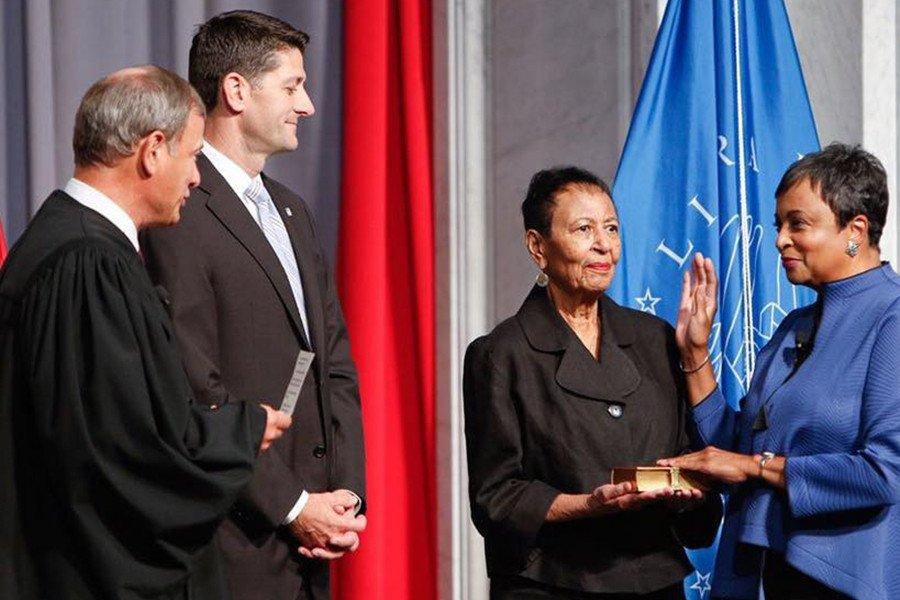 It's official! Dr. Carla Hayden is the first woman and African American Librarian of Congress