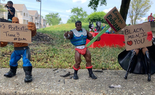 Parents Teach 6-Year-Old Son About Peaceful Protests Using Action Figures
