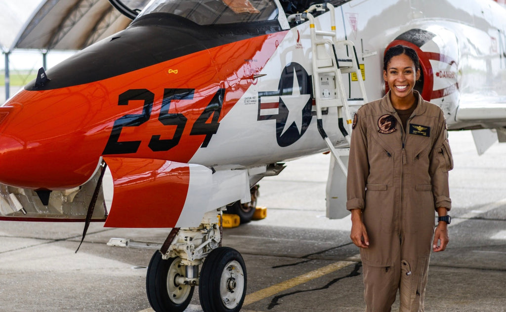 Madeline Swegle Just Became U.S. Navy's First Black Female Tactical Jet Pilot