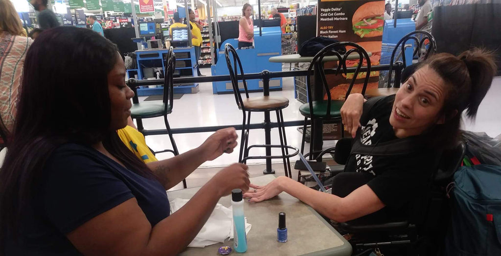 Walmart Cashier's Random Act Of Kindness Towards Woman With Cerebral Palsy Will Absolutely Touch Your Heart