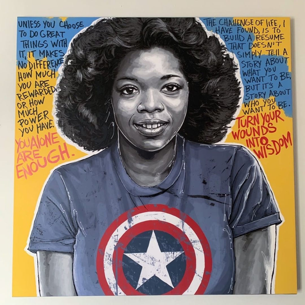 IMAGINATIVE ARTIST PORTRAYS ICONIC BLACK WOMEN AS