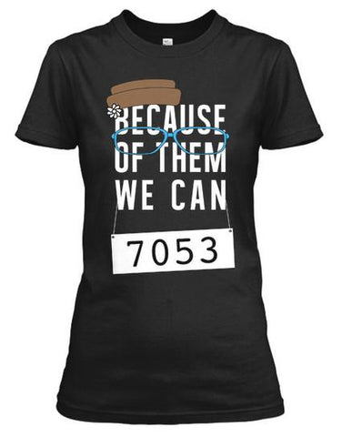 Iconic Series - Rosa Parks Inspired - Because of Them We Can Shirt