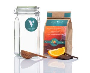 Load image into Gallery viewer, Chocolate & Orange Flavour Vegan Protein Powder by Vitally Vegan