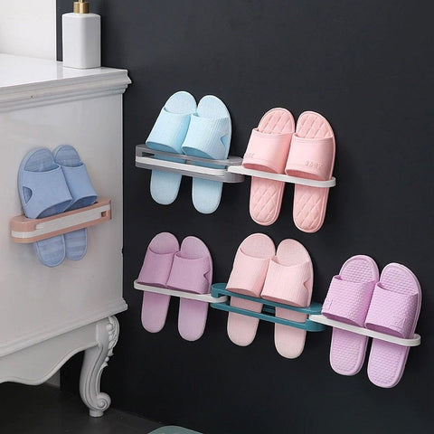 3 in 1 Expandible Slippers Holder - Buy 1 Take 1
