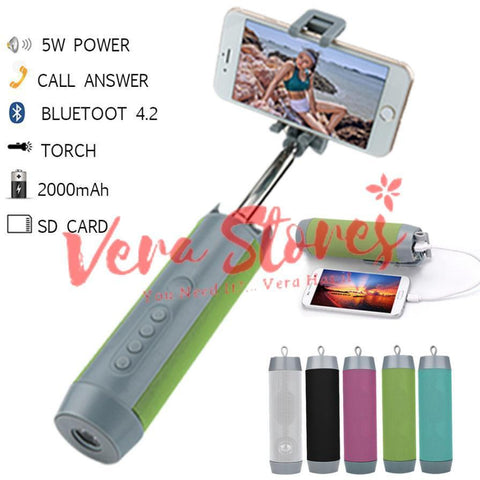 5 in 1 Multi function Selfie Stick