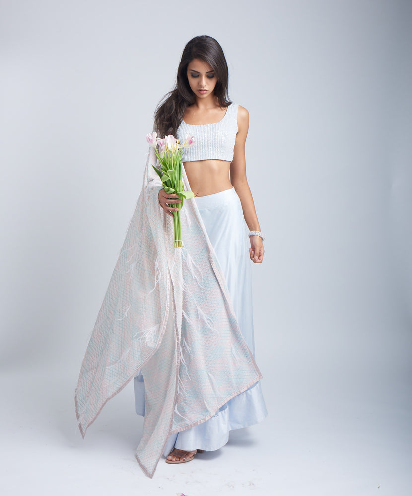 Umbrella Lehenga Set