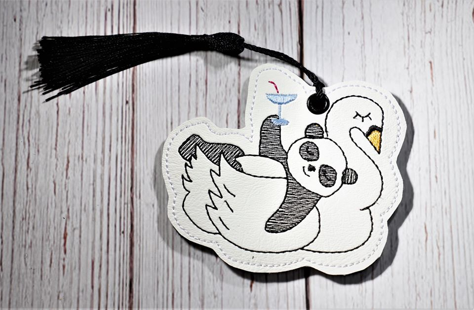 Martini Panda Bookmark 4x4 DIGITAL DOWNLOAD