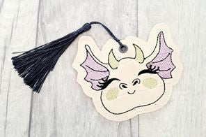 Dragon Head Bookmark/Ornament 4x4 DIGITAL DOWNLOAD