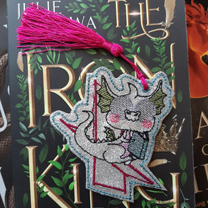 Lounge Dragon Bookmark/Ornament 4x4 DIGITAL DOWNLOAD