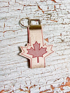 Maple Leaf Key fob set, single and multi included DIGITAL DOWNLOAD