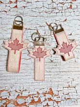 Load image into Gallery viewer, Maple Leaf Key fob set, single and multi included DIGITAL DOWNLOAD