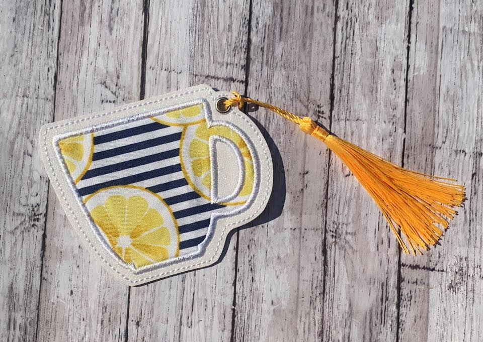 Mug Applique bookmark/ornament 4x4 DIGITAL DOWNLOAD