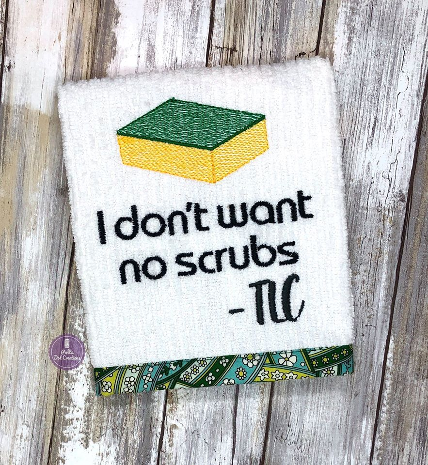 No scrubs 4x4 & 5x7 DIGITAL DOWNLOAD