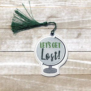 Let's get lost bookmark DIGITAL DOWNLOAD
