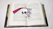 Load image into Gallery viewer, Skull flower bookmark/Ornament 4x4 DIGITAL DOWNLOAD