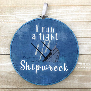 I run a tight shipwreck multi sizes DIGITAL DOWNLOAD