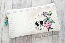 Load image into Gallery viewer, Skull Flower ITH Bag DIGITAL DOWNLOAD