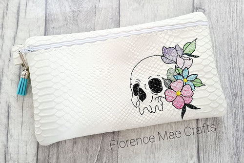 Skull Flower ITH Bag DIGITAL DOWNLOAD