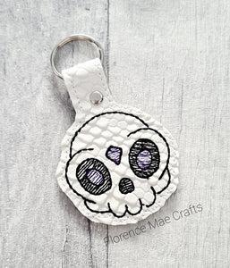 Gem skull snap tab Single & Multi file included DIGITAL DOWNLOAD