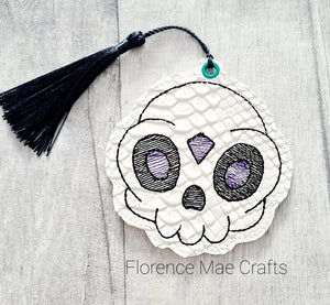 Gem Skull bookmark 4x4 DIGITAL DOWNLOAD