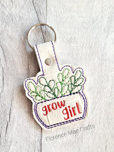 Grow girl snap tab Single and Multi files included DIGITAL DOWNLOAD