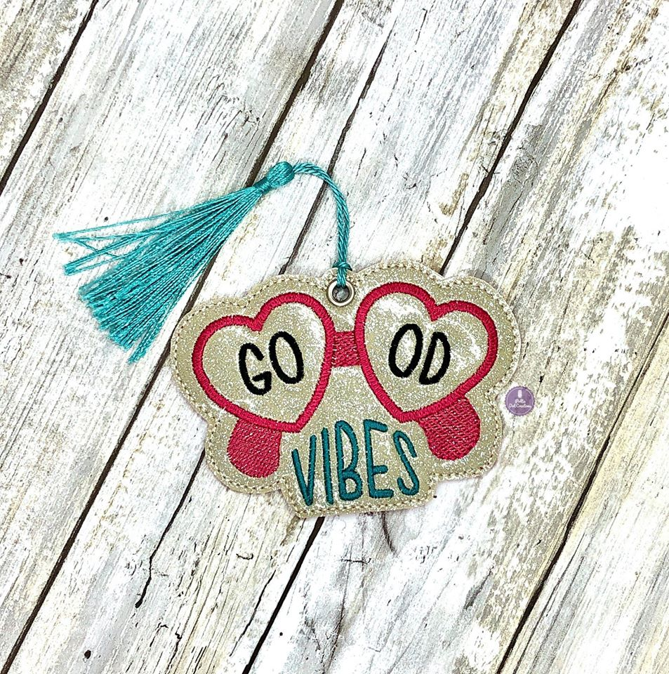 Good Vibes bookmark 4x4 DIGITAL DOWNLOAD