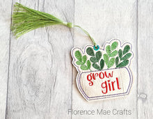 Load image into Gallery viewer, Grow girl Bookmark 4x4 DIGITAL DOWNLOAD