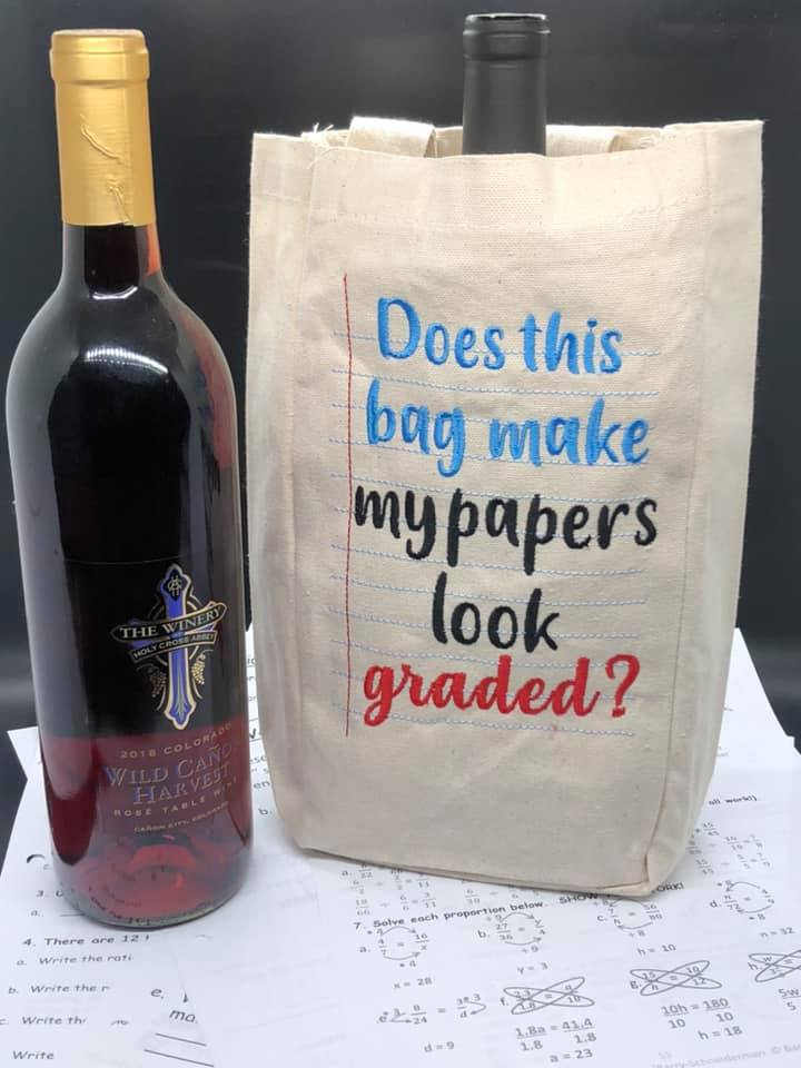 Does the bag make my papers look graded design 4 sizes included DIGITAL DOWNLOAD