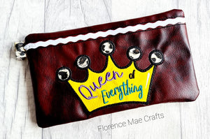 Queen of Everything ith bag 3 sizes available DIGITAL DOWNLOAD