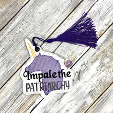 Load image into Gallery viewer, Impale the Patriarchy Bookmark 4x4 DIGITAL DOWNLOAD